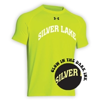 SILVER LAKE HYPER COLOR UNDER ARMOUR TEE