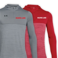 SILVER LAKE UNDER ARMOUR TECH 1/4 ZIP HOODY