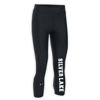 SILVER LAKE LADIES UNDER ARMOUR HEAT GEAR ARMOUR CAPRI