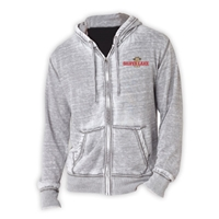 SILVER LAKE UNISEX BURNOUT HOODY