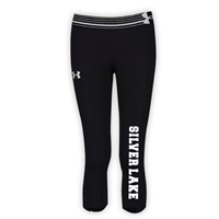 SILVER LAKE GIRLS UNDER ARMOUR HEAT GEAR ALPHA CAPRI