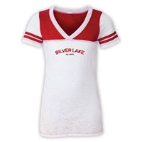 SILVER LAKE SPORTY BURNOUT V-NECK