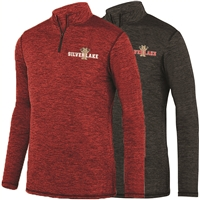 SILVER LAKE LADIES INTENSIFY HEATHER 1/4 ZIP PULLOVER