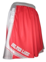 SILVER LAKE SUBLIMATED BASKETBALL SHORTS