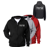 SILVER LAKE FULL ZIP HOODED SWEATSHIRT