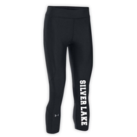 SILVER LAKE GIRLS UNDER ARMOUR HEAT GEAR LEGGING