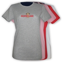 SILVER LAKE GIRLS FITTED TEE
