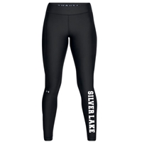 SILVER LAKE LADIES UNDER ARMOUR HEAT GEAR LEGGING