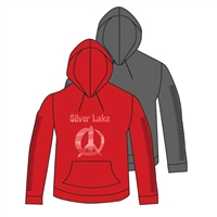 SILVER LAKE FULL SLEEVE SNIP HOODY CUT BY ALI & JOE