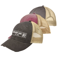 SILVER LAKE OLLIE DISTRESSED HAT