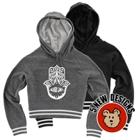 SILVER LAKE CUSTOM LADIES STADIUM CROPPED HOODIE
