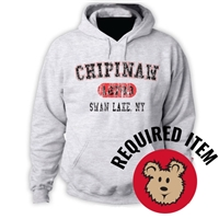 CHIPINAW OFFICIAL HOODED SWEATSHIRT
