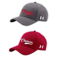 CHIPINAW UNDER ARMOUR CURVED BRIM STRETCH FITTED CAP