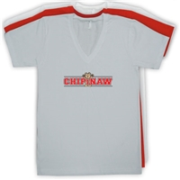 CHIPINAW AMERICAN APPAREL UNISEX JERSEY V-NECK TEE