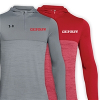 CHIPINAW UNDER ARMOUR TECH 1/4 ZIP HOODY