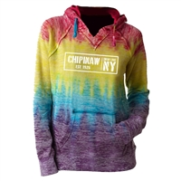 CHIPINAW COURTNEY BURNOUT V-NOTCH SWEATSHIRT