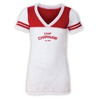 CHIPINAW SPORTY BURNOUT V-NECK