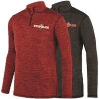 CHIPINAW LADIES INTENSIFY HEATHER 1/4 ZIP PULLOVER