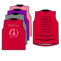 CHIPINAW MUSCLE WITH RIBBON BACK TEE BY ALI & JOE