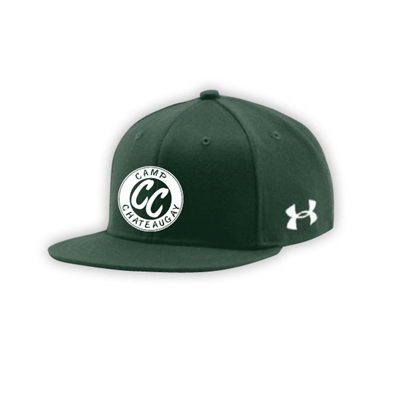 CHATEAUGAY UNDER ARMOUR FLAT BRIM STRETCH FITTED CAP