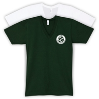 CHATEAUGAY AMERICAN APPAREL UNISEX JERSEY V-NECK TEE