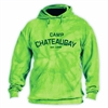 CHATEAUGAY LIME TIE DYE HOODY