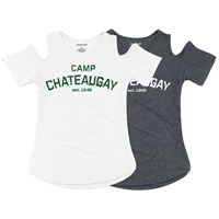 CHATEAUGAY COLD SHOULDER TEE