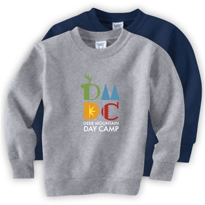 DEER MOUNTAIN DAY CAMP OFFICIAL TODDLER CREW SWEATSHIRT