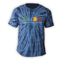 DEER MOUNTAIN DAY CAMP TIE DYE TEE