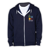DEER MOUNTAIN DAY CAMP AMERICAN APPAREL FLEX FLEECE HOODY