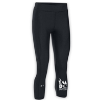 DEER MOUNTAIN DAY CAMP LADIES UNDER ARMOUR HEAT GEAR ARMOUR CAPRI