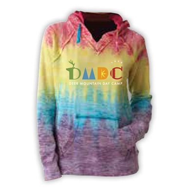 DEER MOUNTAIN DAY CAMP COURTNEY BURNOUT V-NOTCH SWEATSHIRT