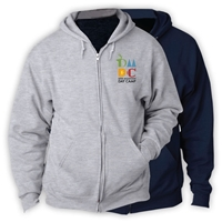 DEER MOUNTAIN DAY CAMP FULL ZIP HOODED SWEATSHIRT