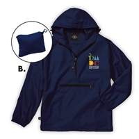 DEER MOUNTAIN DAY CAMP PACK-N-GO PULLOVER JACKET