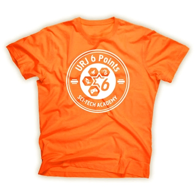 6 POINTS ORANGE STYLE TEE
