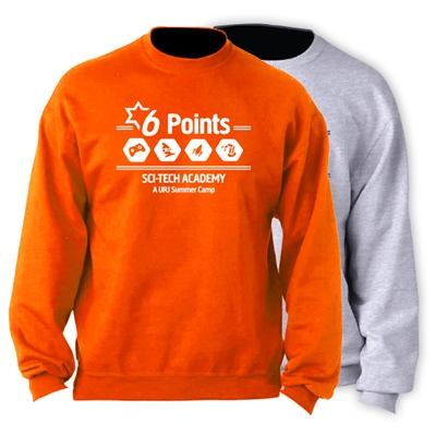 6 POINTS OFFICIAL CREW SWEATSHIRT