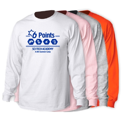 6 POINTS LONGSLEEVE TEE