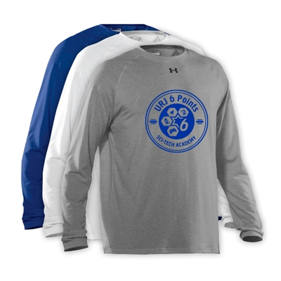6 POINTS UNDER ARMOUR LONGSLEEVE TEE