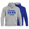 6 POINTS UNDER ARMOUR HOODY