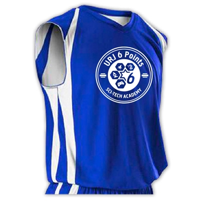 6 POINTS OFFICIAL REV BASKETBALL JERSEY