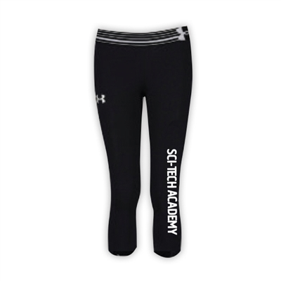 6 POINTS GIRLS UNDER ARMOUR HEAT GEAR ALPHA CAPRI