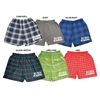 6 POINTS FLANNEL BOXERS