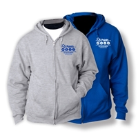 6 POINTS FULL ZIP HOODED SWEATSHIRT
