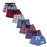 6 POINTS RUFFLE BOXERS