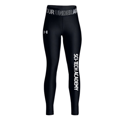6 POINTS GIRLS UNDER ARMOUR HEAT GEAR LEGGING