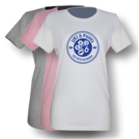 6 POINTS GIRLS FITTED TEE