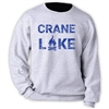 CRANE LAKE OFFICIAL CREW SWEATSHIRT