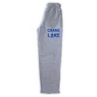 CRANE LAKE OPEN BOTTOM SWEATPANTS WITH POCKETS