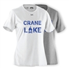 CRANE LAKE LADIES UNDER ARMOUR TEE