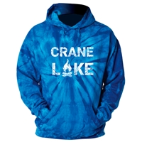 CRANE LAKE ROYAL TIE DYE SWEATSHIRT